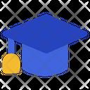 Mortarboard Graduation Education Icon