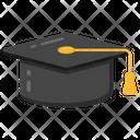 Graduation Cap Mortar Cap Academic Cap Icon