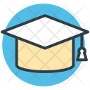 Mortarboard Graduation Cap Icon