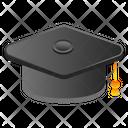 Graduation Mortarboard Hat Icon