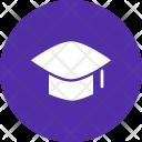 Mortarboard Hat Graduation Icon