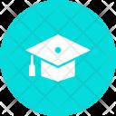 Mortarboard Graduation Hat Icon