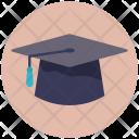 Mortarboard Graduate Bachelor Icon