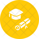 Mortarboard Hat Degree Icon
