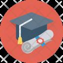 Mortarboard Degree Graduate Icon