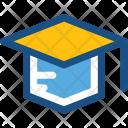 Mortarboard Graduate Cap Icon