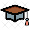 Mortarboard Graduate Degree Icon