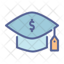 Fee Cost Education Icon