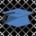 Graduation Mortboard Cap Icon