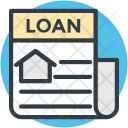 Mortgage Loan Rental Icon