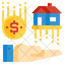 Mortgage Loan House Icon