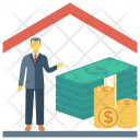 Mortgage Home Real Icon