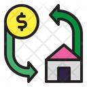 Mortgage House Home Icon