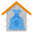 Mortgage Monney Money Bag Icon
