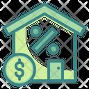 Mortgage House Loan House Money Icon
