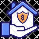 Mortgage Insurance Apartment Icon