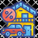 Mortgage Loan Money Icon