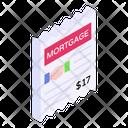 Mortgage Agreement Icon