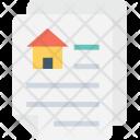 Mortgage Application Form Icon