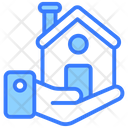 Mortgage House House Loan House Payment Icon