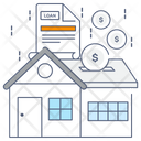 Home Loan Mortgage Loan Real Estate Loan Icon