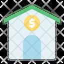 Mortgage Loan Coin Money Icon