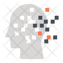 Mosaic Disorder Mental Icon