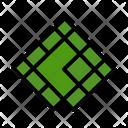 Mosaic Background Glass Icon