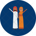 Moslem Character Design Icon