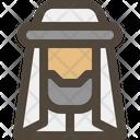 Moslem Avatar Arab Icon