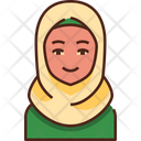 Moslem Woman People Woman Icon