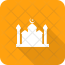 Mosque Prayer Crescent Icon