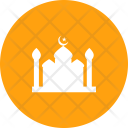 Mosque Prayer Crescent Icon