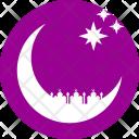 Mosque Moon Ramzan Icon