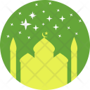 Mosque Prayer Festival Icon