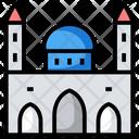 Mosque Islamic Land Landmark Icon