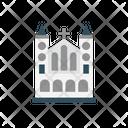 Mosque Building Religious Icon