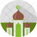 Mosque Building Islamic Icon