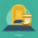 Mosque Building Interior Icon