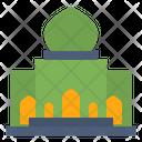 Building Mosque Muslim Icon Icon
