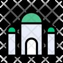 Mosque Building Dome Icon