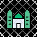 Mosque Religious Muslims Icon