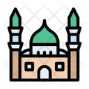 Mosque Famous Monument Icon