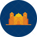 Mosque Building Pray Icon