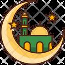 Mosque Building Islamic Icon