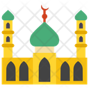 Mosque Masjid Islamic Building Icon