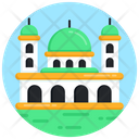 Masjid Mosque Worship Place Icon