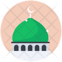 Mosque Dome Mosque Worship Place Icon