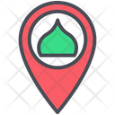 Islam Location Mosque Icon