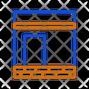 Kaaba Landamark Location Icon